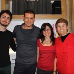 Carlos Paul con el equipo de ACULCO Media 2