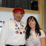 Consul de Ecuador con ACULCO Media