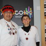 Consul de Ecuador con Hable con Gloria