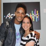 Fernando con Viviana de Casa en casa