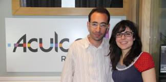 Amaury Santana y Elizabeth Santana