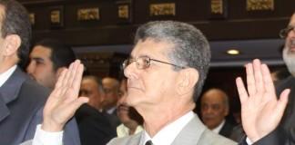 Henry Ramos Allup, presidente de la Asamblea Nacional