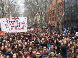 77 personas detenidas en octavo día de protestas en Francia contra nueva ley laboral