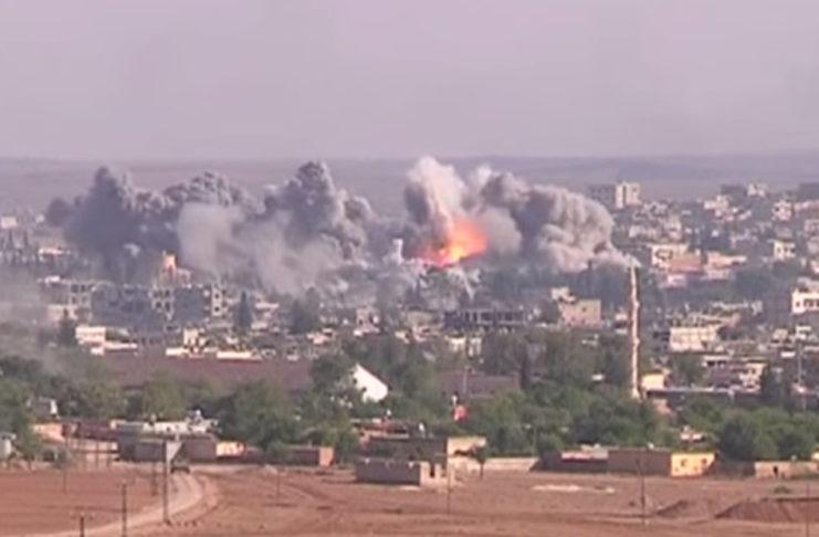 En Siria han muerto más de 5.400 personas en bombardeos de la coalición internacional. Imagen de archivo.