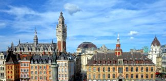 La ciudad de Lille vive momentos de tensión ante la Eurocopa. Imagen de archivo.