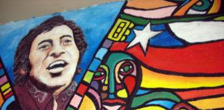 Mural de Víctor Jara. Imagen de archivo.