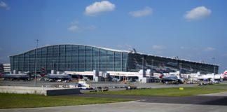 Terminal 5 del aeropuerto de Heathrow. Imagen de archivo.