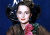 La actriz, Olivia de Hallivand. Meredy.com