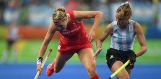 La selección británica de hockey se clasifica en una final olímpica por primera vez. Imagen de archivo.