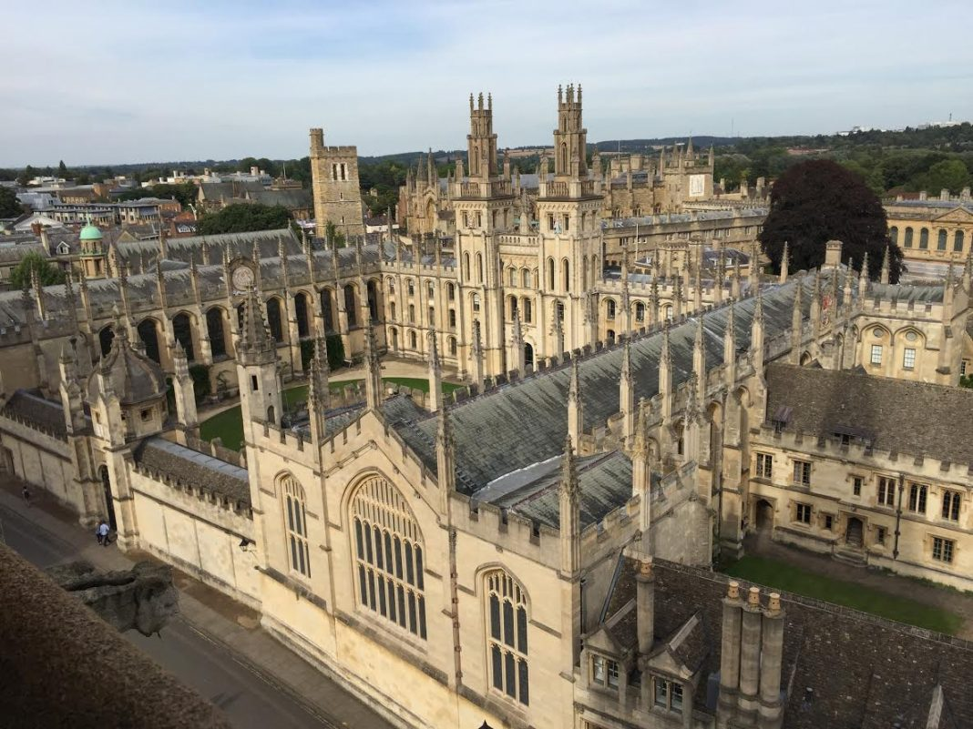 All Souls College. Patricia Cuenca.