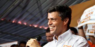El líder opositor venezolano, Leopoldo López. Imagen de archivo.