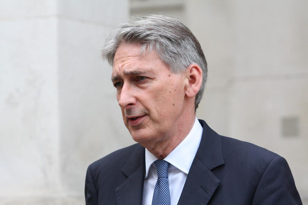 El canciller británico, Philip Hammond. Imagen de archivo.