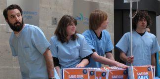 Miembros del NHS. Imagen de archivo.