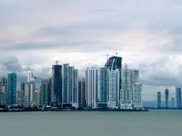 Vistas de Panamá. Imagen de archivo.