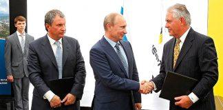 Rex Tillerson y Vladímir Putin. Imagen de archivo.