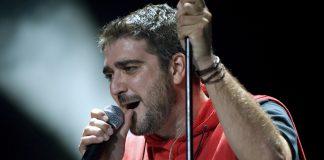 Antonio Orozco durante uno de sus conciertos. Imagen de archivo.