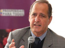 Juan Camilo Restrepo, jefe negociador con el ELN. Presidencia de la República.