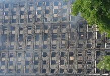 Incendio en la torre Grenfell. Andrea Gurau.