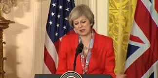 Theresa May gana las elecciones, pero pierde la mayoría absoluta. Imagen de archivo.