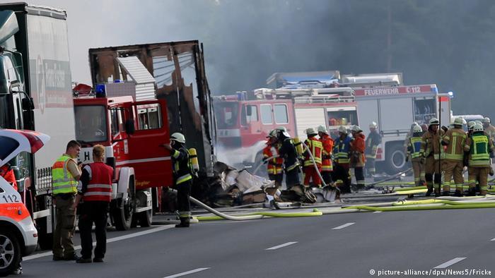 Accidente de autobús en Alemania. DW.