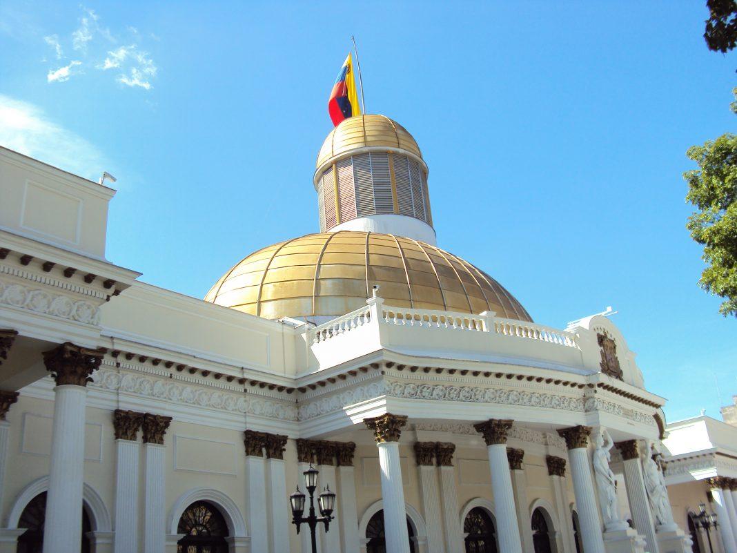 Sede de la Asamblea Nacional de Venezuela. Imagen de archivo.