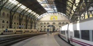El choque se produjo en la estación de Francia, en Barcelona. Imagen de archivo.