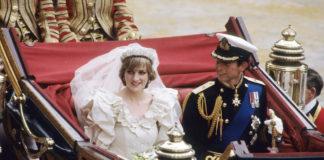 Lady Di y el príncipe Carlos el día de su boda. Good Housekeeping.