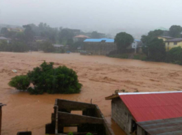 Cientos de muertos por deslaves e inundaciones en Sierra Leona.