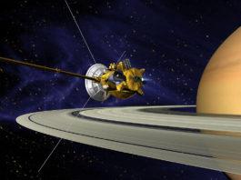 Sonda Cassini. Imagen de archivo.