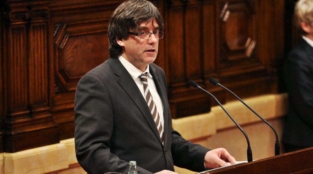 Carles Puigdemont, presidente cesado de Cataluña. Imagen de archivo.