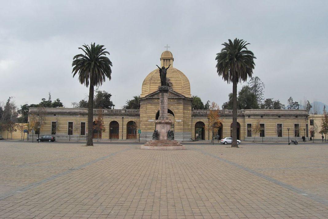 La marcha finalizó en el Cementerio General de Santiago de Chile. Imagen de archivo.