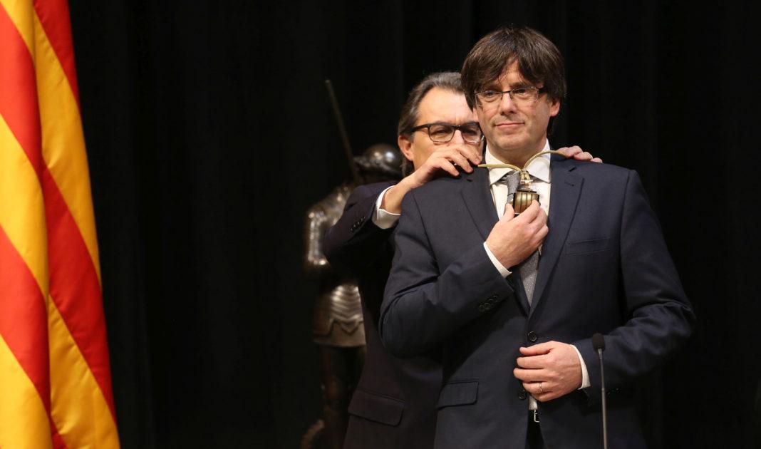 Carles Puigdemont, presidente de Cataluña. Imagen de archivo.