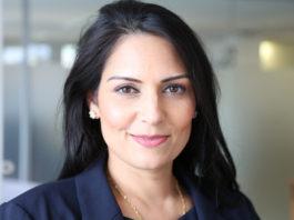 La ministra de Cooperación Internacional británica, Priti Patel, dimite. Imagen de archivo.