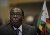 Robert Mugabe, presidente de Zimababue presenta su dimisión. Imagen de archivo.