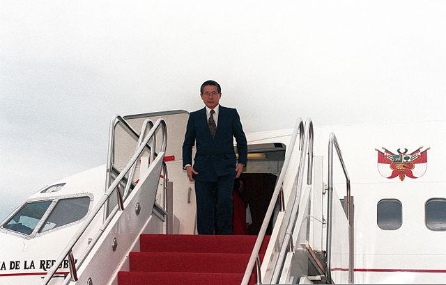 El expresidente de Perú, Alberto Fujimori. Imagen de archivo.