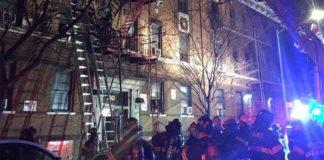 El incendio se produjo en un edificio de apartamentos de El Bronx. Xeu.com