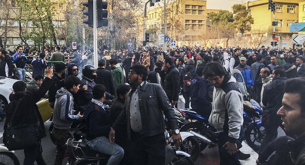 Protestas en Irán. Sputnik Mundo.