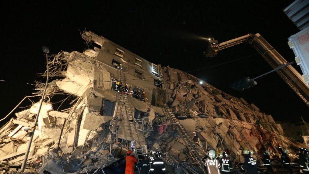 Imágenes del sismo en Taiwán. T13