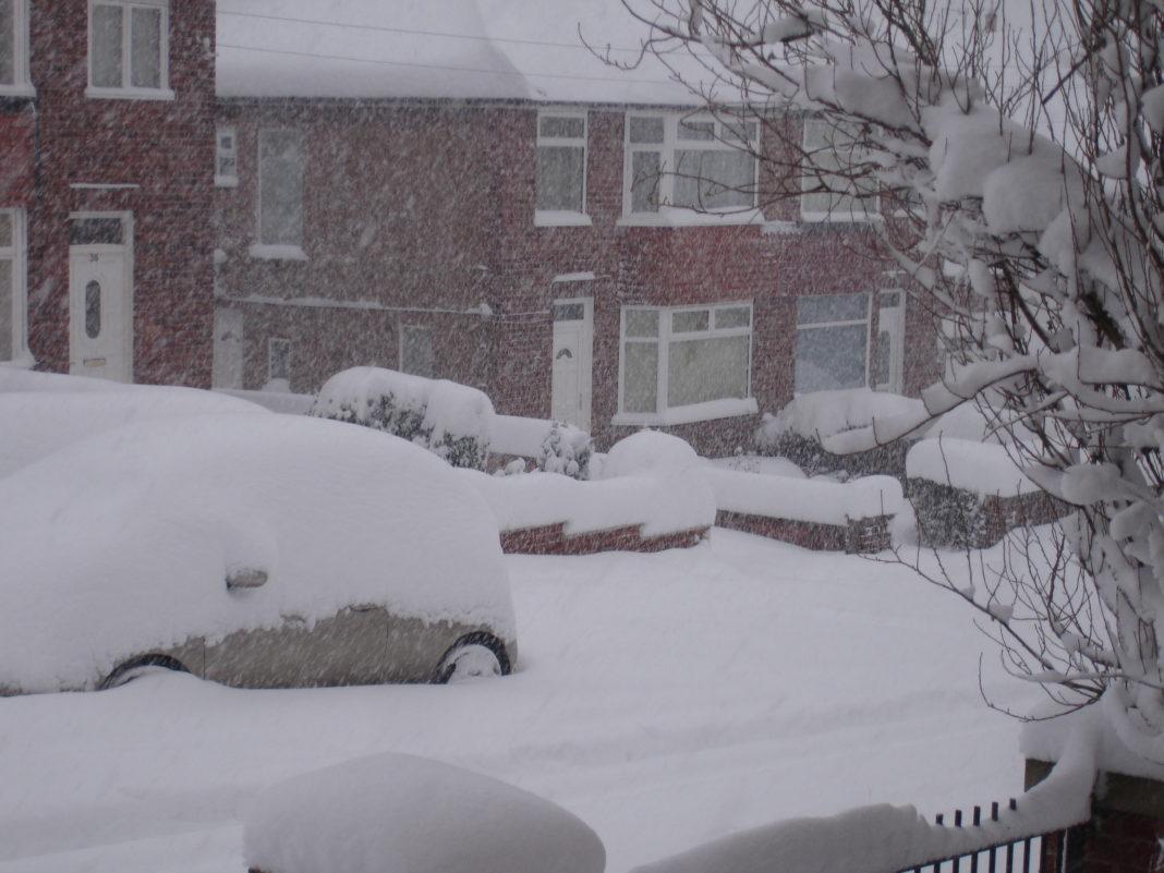 Temporal de nieve afecta a Reino Unido. Imagen de archivo.