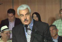 Ángel Oropeza, coordinador de política de la Mesa de Unidad Democrática. Imagen de Youtube.