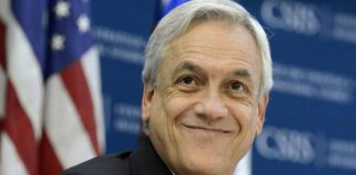 Sebastián Piñera, presidente de Chile. Imagen de archivo.