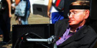 Stephen Hawking en Cambridge. Imagen de archivo.
