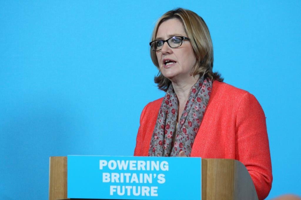 Amber Rudd, ministra de Interior de Reino Unido. Imagen de archivo.