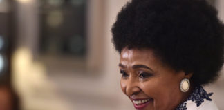 Winnie Madikizela-Mandela. Imagen de archivo.