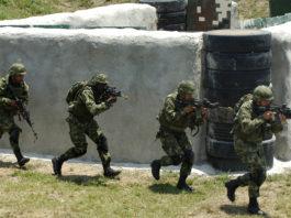 Fuerzas Armadas Especiales de Colombia. Imagen de archivo.