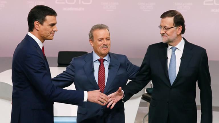 Polémico cara a cara entre Rajoy y Sánchez