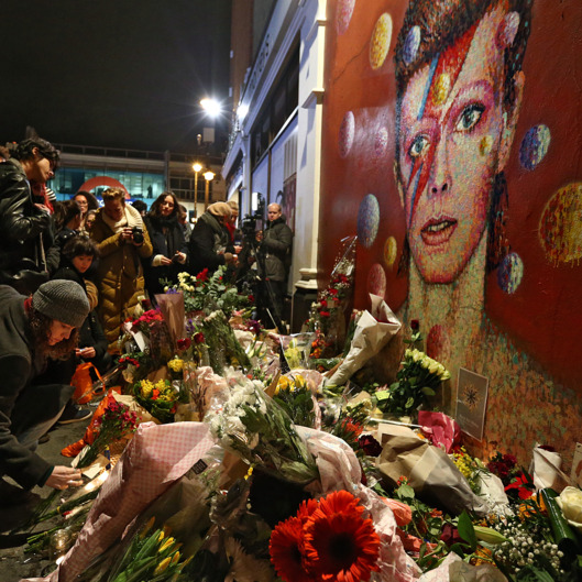 Mural de David Bowie en Brixton, Londres