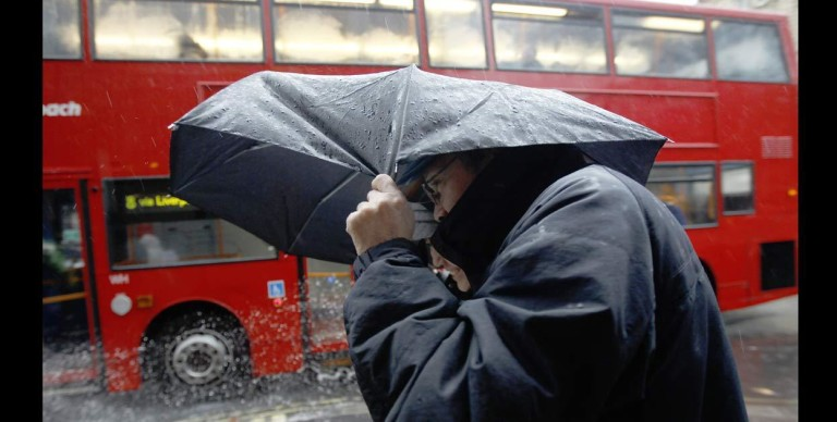 La tormenta Gertrude amenaza gran parte de Reino Unido.