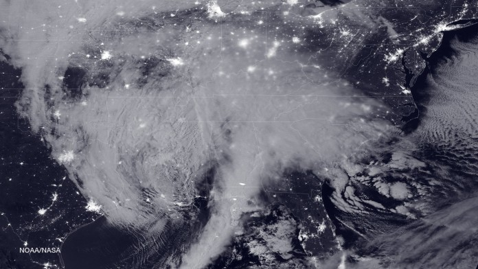 La tormenta Jonas se acerca a Reino Unido