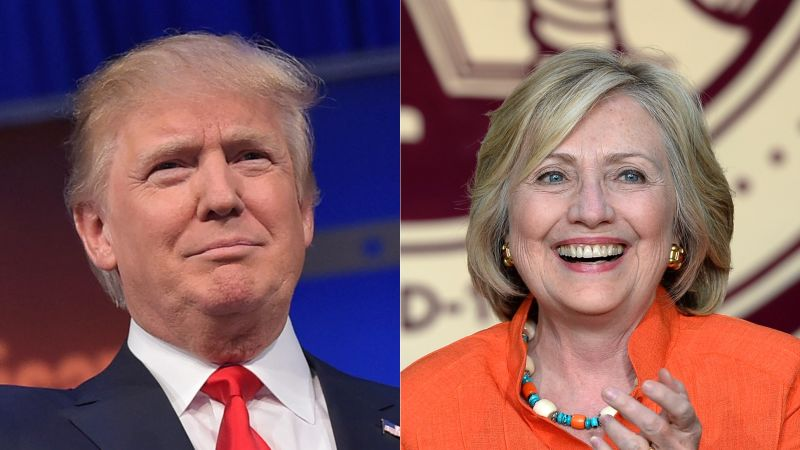 Donald Trump y Hilary Clinton